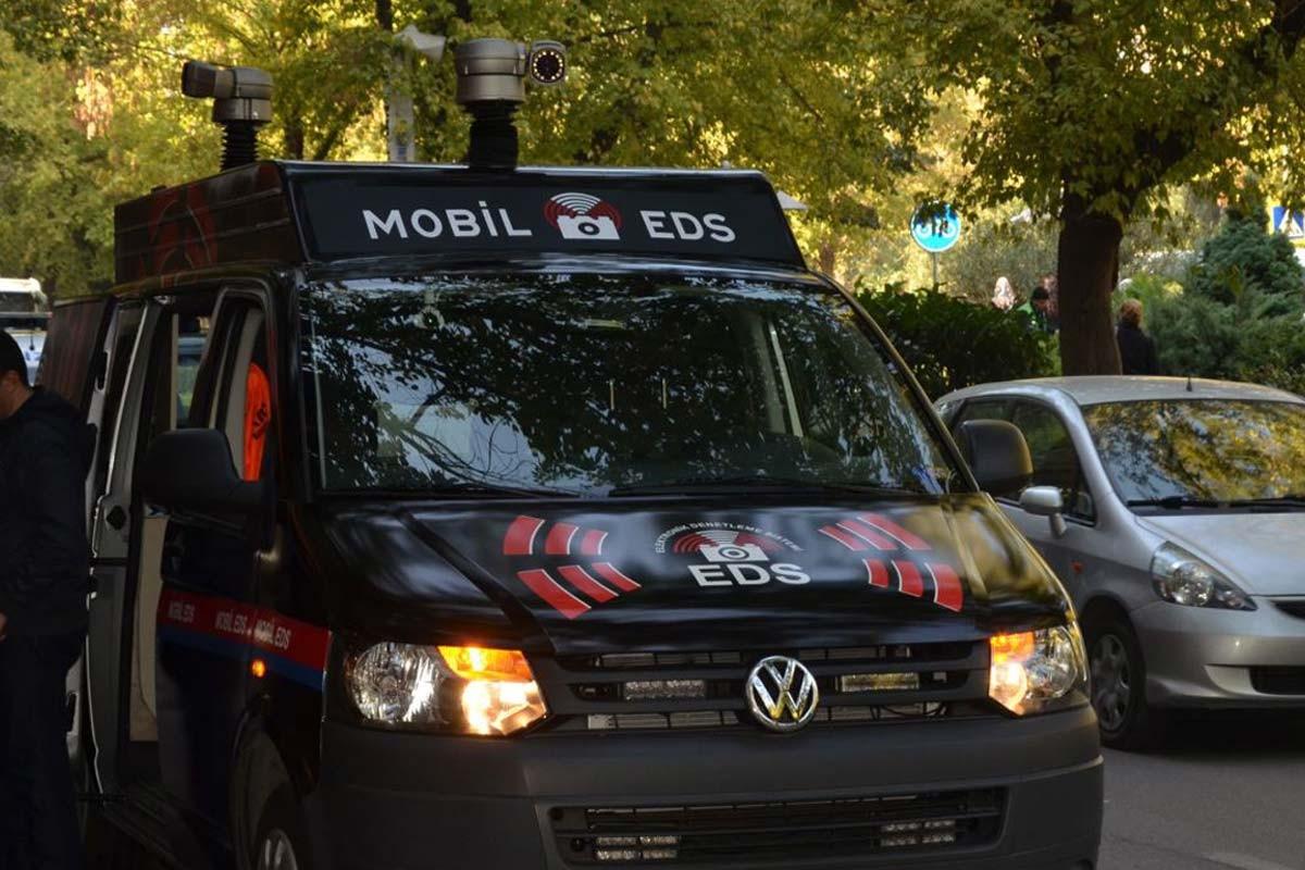 Mobil EDS Sistemi bu zamana kadar 6 bin 538 ceza kesti.